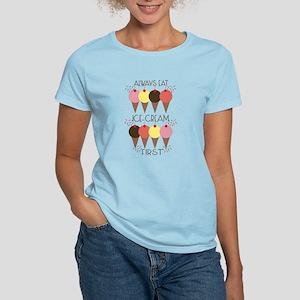 Ice Cream First Women's Light T-Shirt
