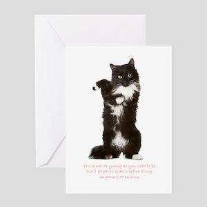 Funny Cat Birthday Card