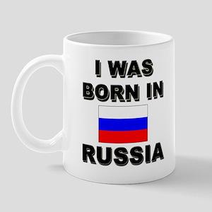 I Was Born In Russia Mug