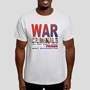 War Criminals Ash Grey T-Shirt
