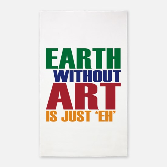 Earth Without Art 3'x5' Area Rug