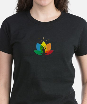 Namaste Symbol Women's Dark T-Shirt