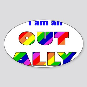 Out Ally Sticker