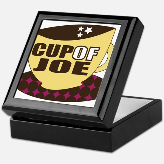 Cup Of Joe Keepsake Box