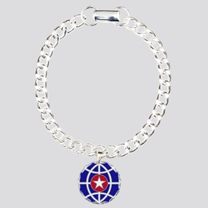CID CSIB Charm Bracelet, One Charm