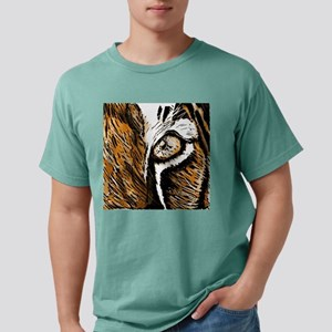 Tiger Eye Mens Comfort Colors Shirt
