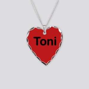 Toni Red Heart Necklace Charm