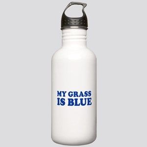 MY GRASS IS BLUE Stainless Water Bottle 1.0L
