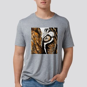 Tiger Eye Mens Tri-blend T-Shirt