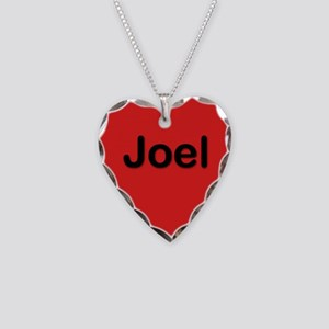 Joel Red Heart Necklace Charm