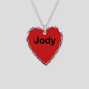 Jody Red Heart Necklace Charm