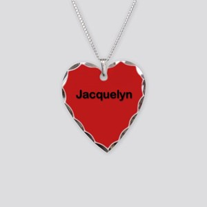 Jacquelyn Red Heart Necklace Charm