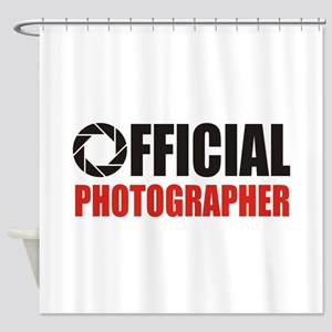 Official Photo App Shower Curtain