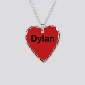 Dylan Red Heart Necklace Charm