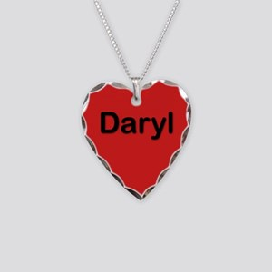 Daryl Red Heart Necklace Charm