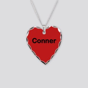 Conner Red Heart Necklace Charm