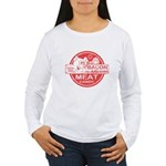 Bacon is Meat Candy Women's Long Sleeve T-Shirt