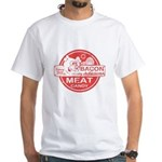 Bacon is Meat Candy White T-Shirt