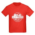 Bacon is Meat Candy Kids Dark T-Shirt