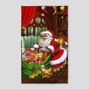 Santa Claus! 3'x5' Area Rug