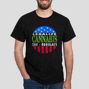 Legalize Cannabis Dark T-Shirt