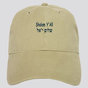 Shalom Y'all Hebrew English Cap