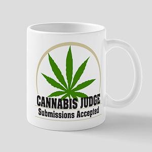 Cannabis Judge Mug