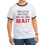 I AM A BEAST Ringer T
