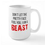 I AM A BEAST Large Mug