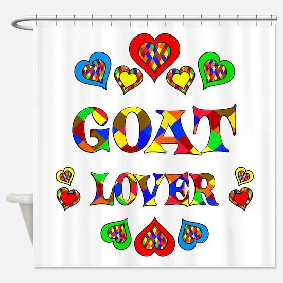 Goat Lover Shower Curtain