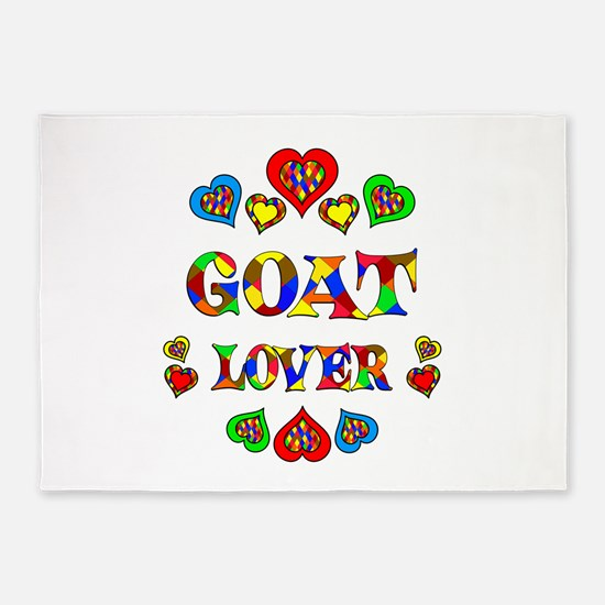 Goat Lover 5'x7'Area Rug
