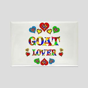 Goat Lover Rectangle Magnet