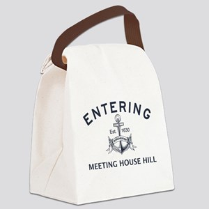MEETING HOUSE HILL Canvas Lunch Bag