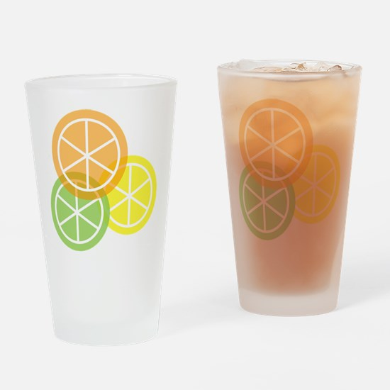 Fruta: Naranja Lima Limon Drinking Glass