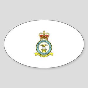 RAF Mildenhall Sticker (Oval)