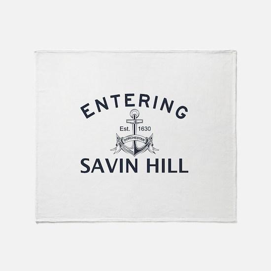 SAVIN HILL Throw Blanket