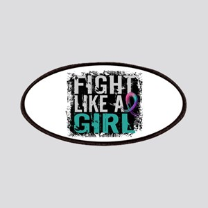 Licensed Fight Like a Girl 31.8 Thyroid Ca Patches