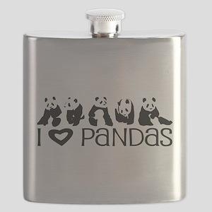 I Heart Pandas Flask
