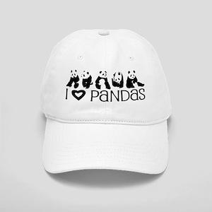 I Heart Pandas Cap