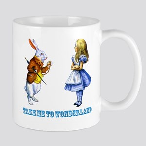 Take me to Wonderland Mug