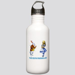 Take me to Wonderland Stainless Water Bottle 1.0L