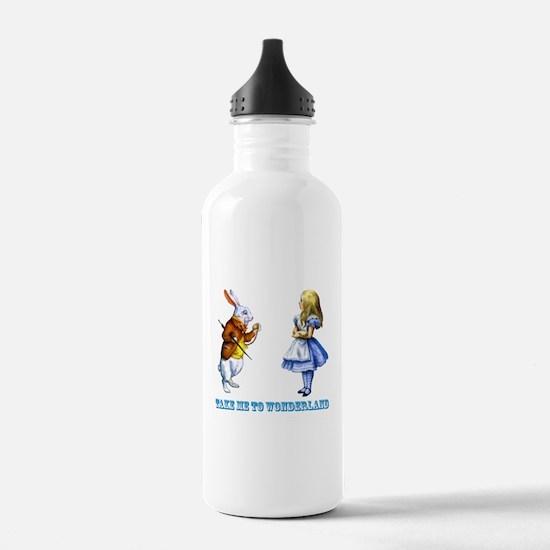 Take me to Wonderland Water Bottle