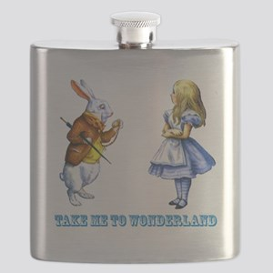 Take me to Wonderland Flask
