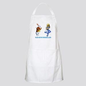 Take me to Wonderland Apron