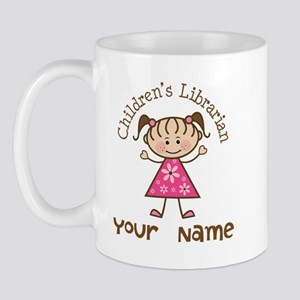 Personalized Children's Librarian Mug