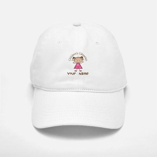 Personalized Children's Librarian Baseball Baseball Cap
