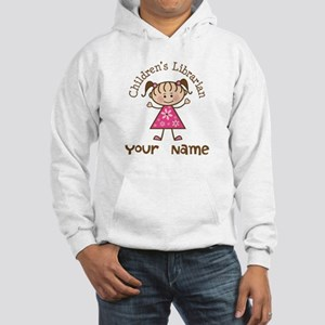 Personalized Children's Librarian Hooded Sweatshir