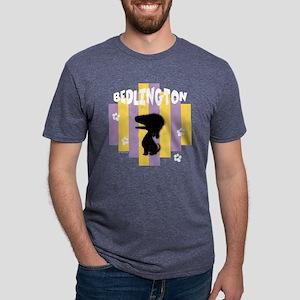 BedlingtonStripe2 Mens Tri-blend T-Shirt