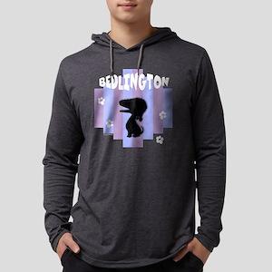 BedlingtonStripe3 Mens Hooded Shirt