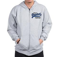 World's Greatest PawPaw Zip Hoodie